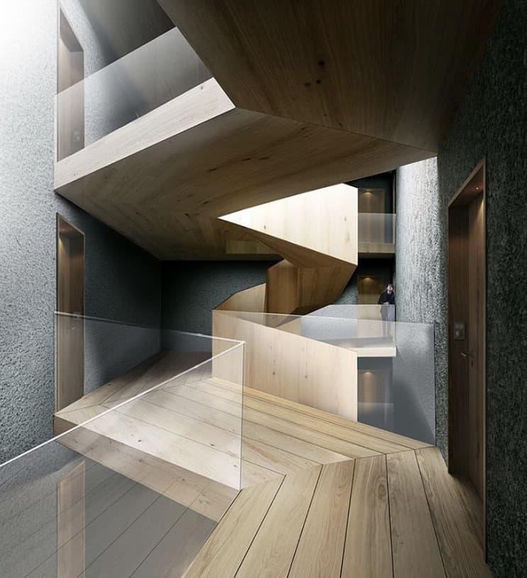 Beeindruckende Treppendesigns