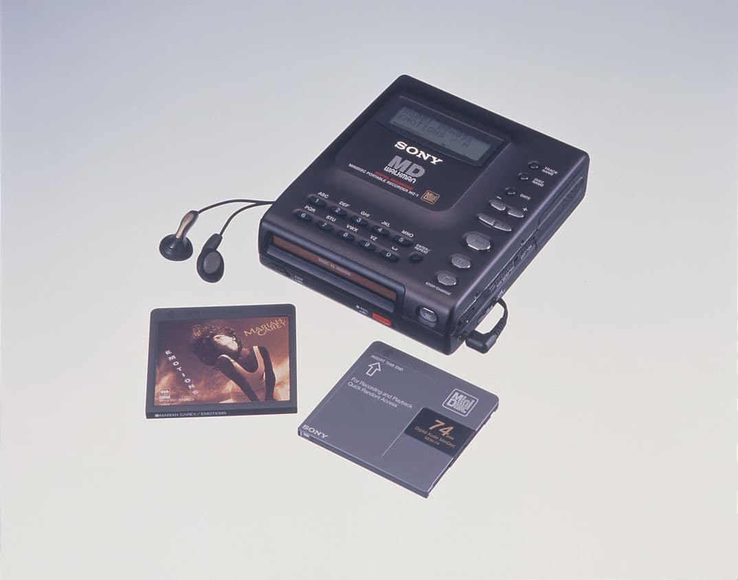SONY MZ1 Minidisc Player