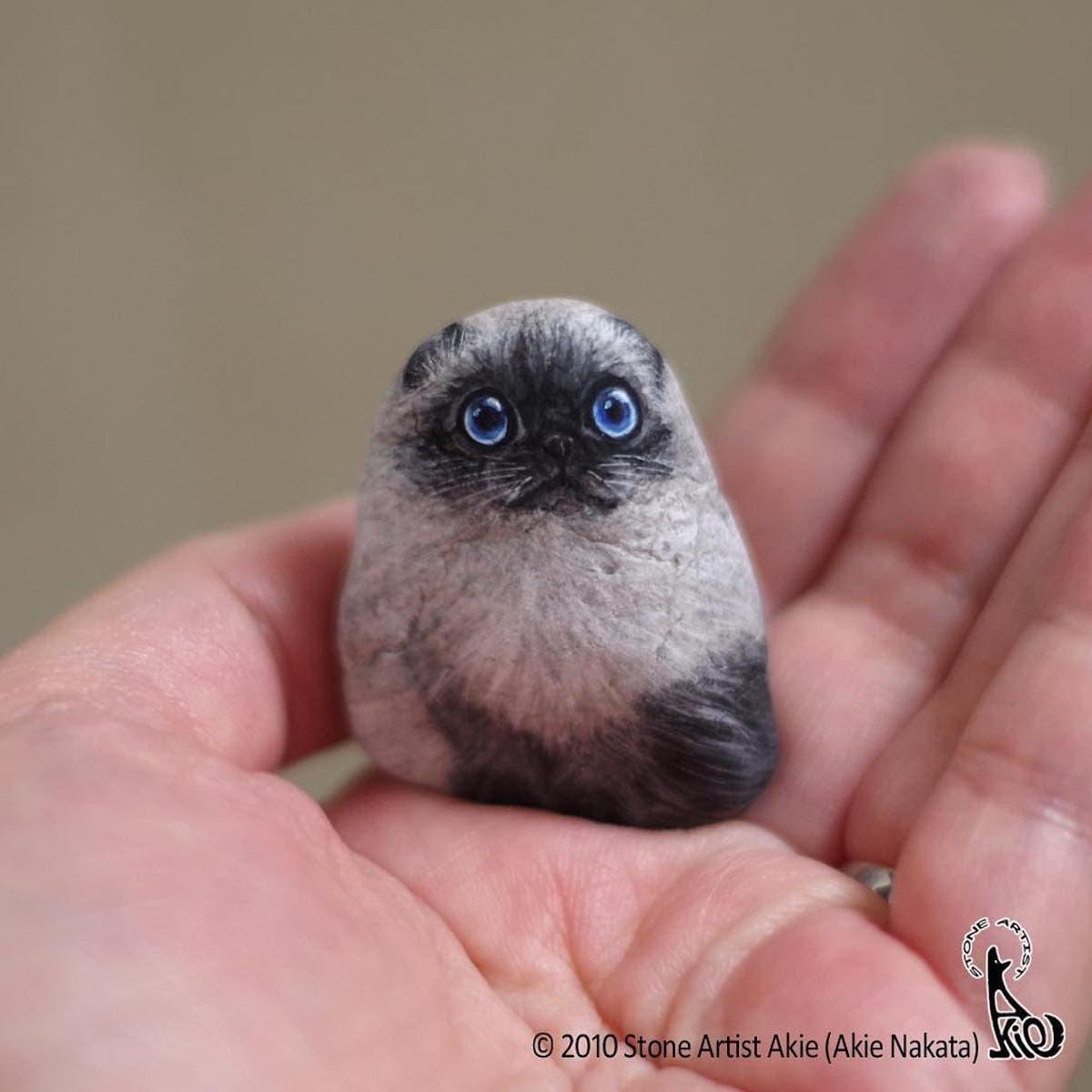 Akie Nakata - Tierfiguren aus Stein