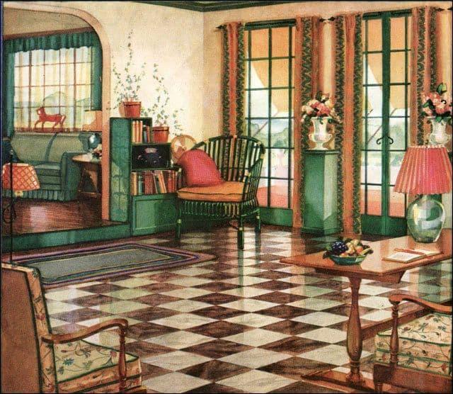 Armstrong Interior Designs - Inneneinrichtung in den 1920ern