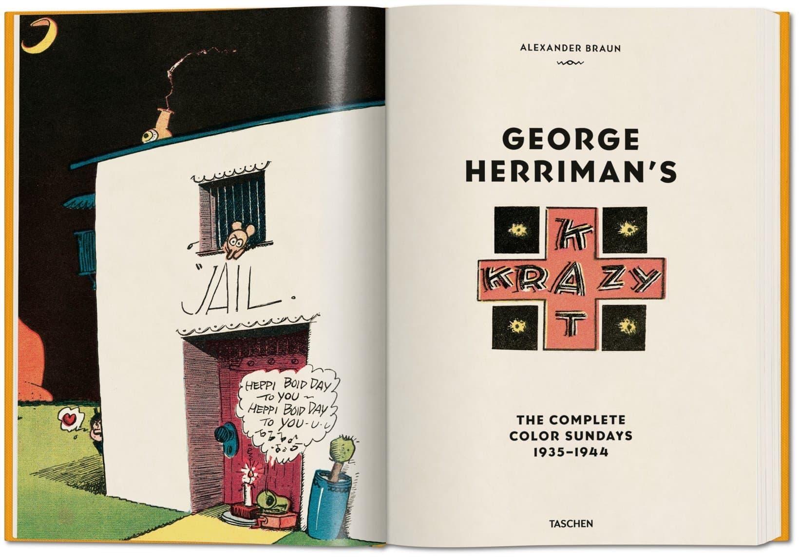 Herriman Krazy Kat Comicstrip