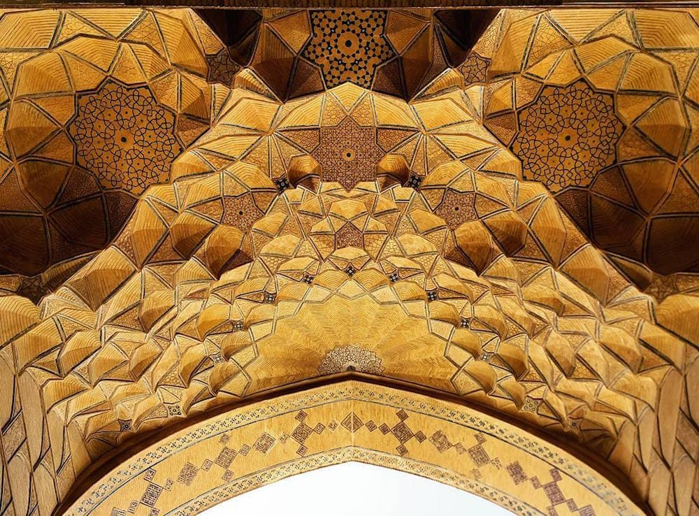 Mehrdad Rasoulifard Deckenmosaiken