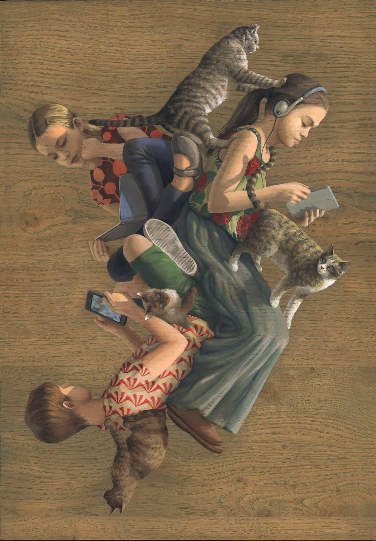 Cinta Vidal - Multi-perspektivische Bilder