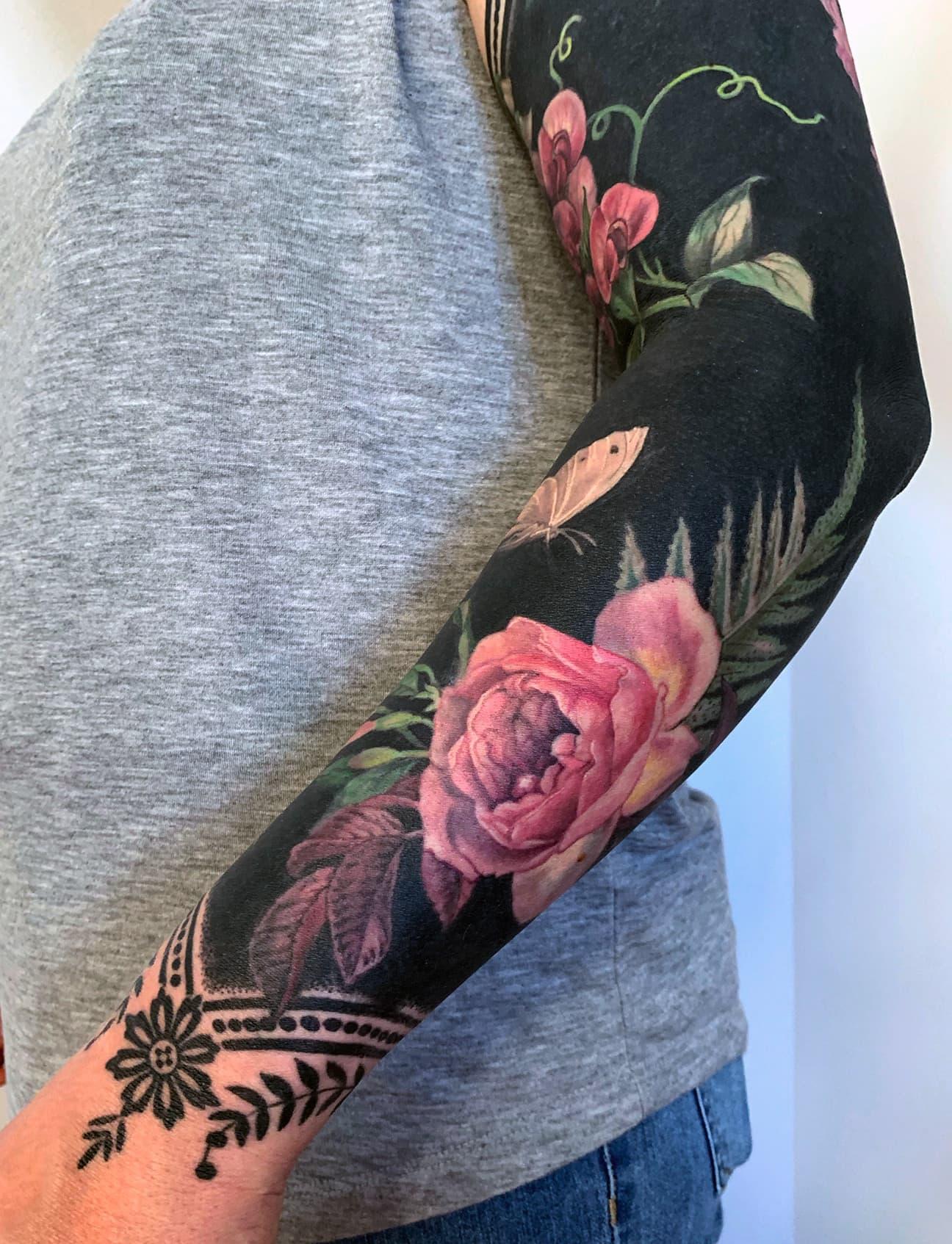 Esther Garcia Tattoo Design