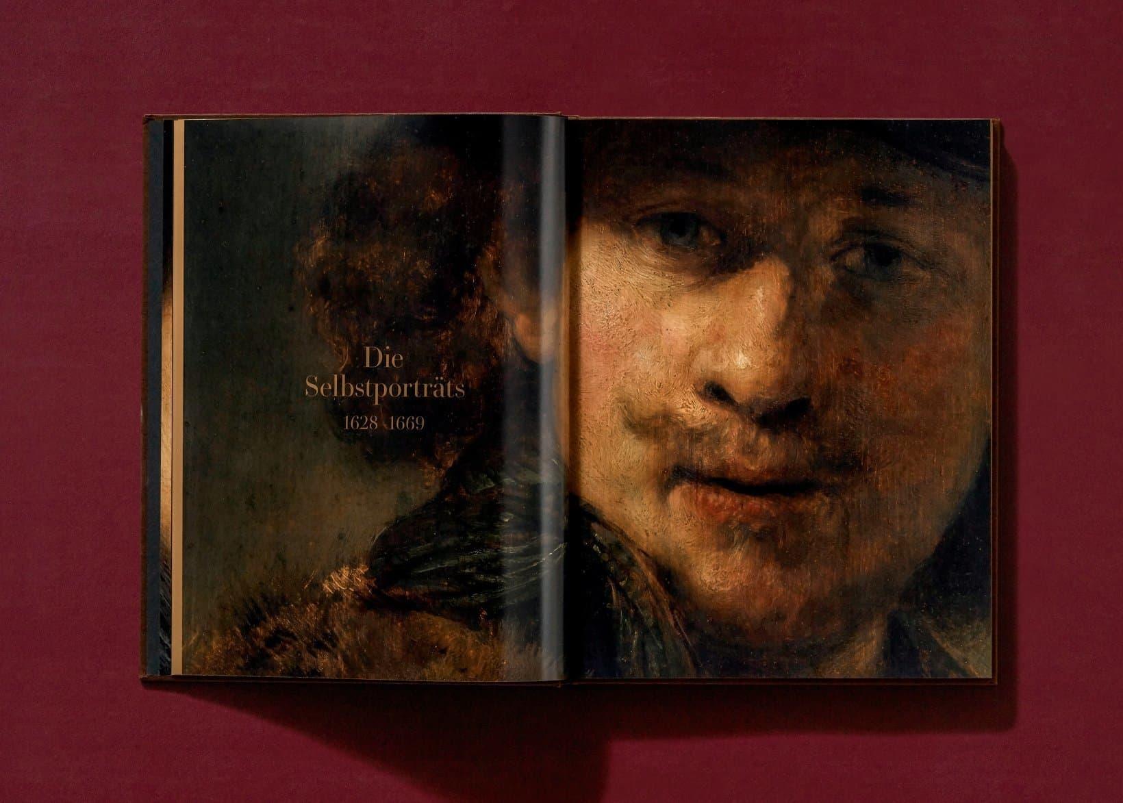 Rembrandt Die Selbstportraits im TASCHEN Verlag