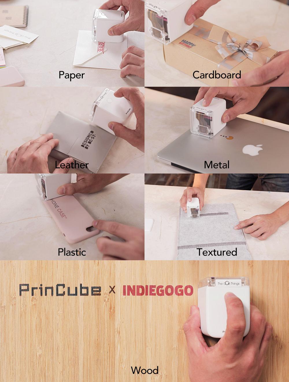 PrinCube - der weltweit kleinste mobile Farbdrucker
