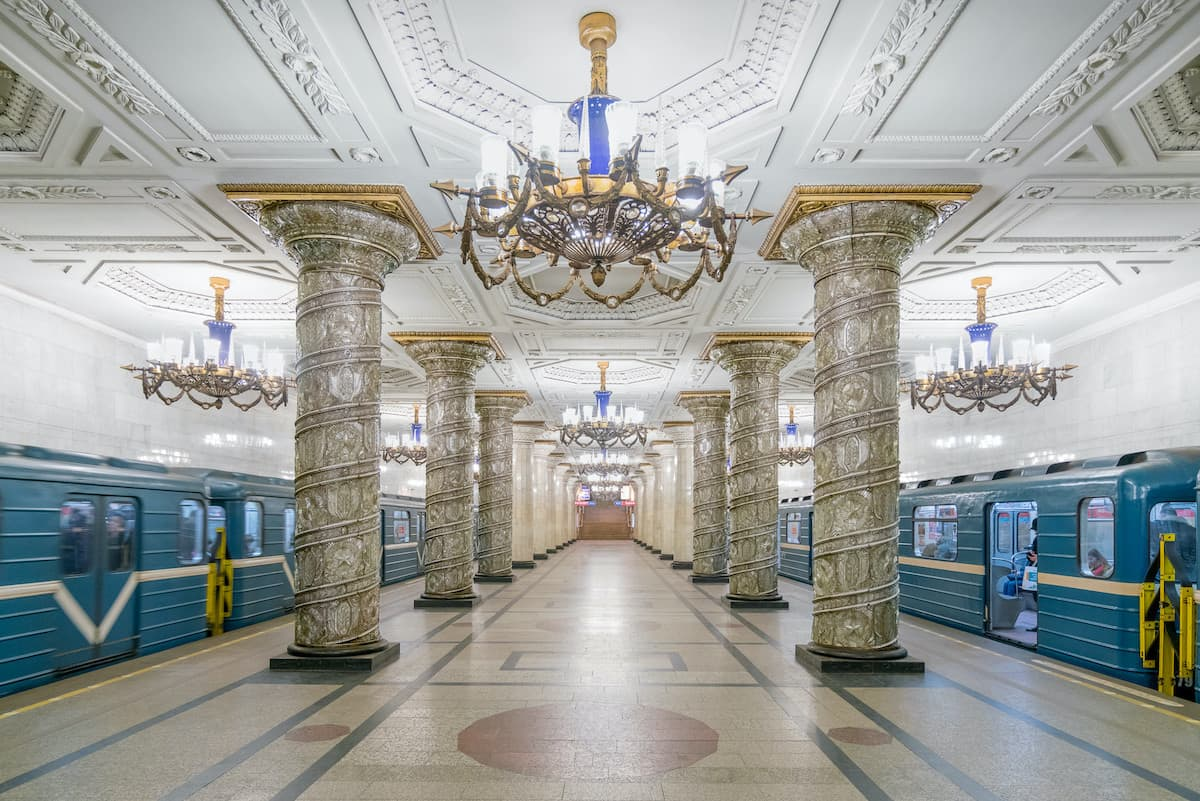 Christopher Herbig - Russische U-Bahnstationen