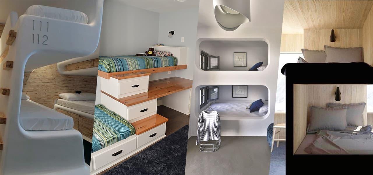 Hochbetten Doppelstockbetten Designideen