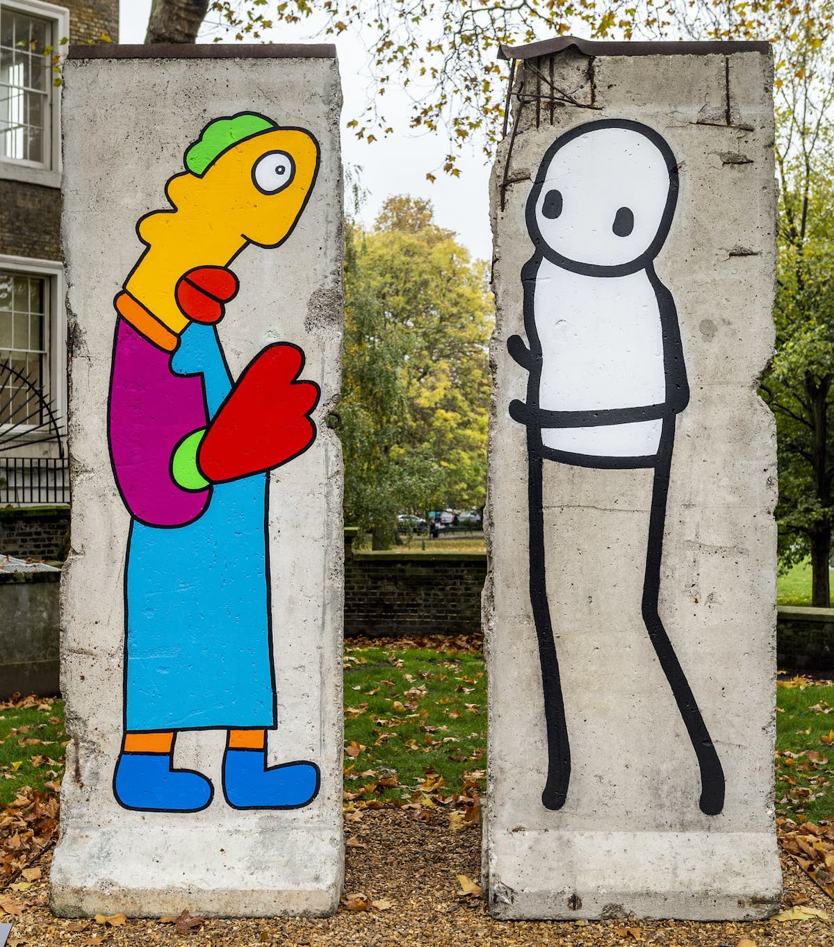 Thierry Noir Stix Berlin Wall Art