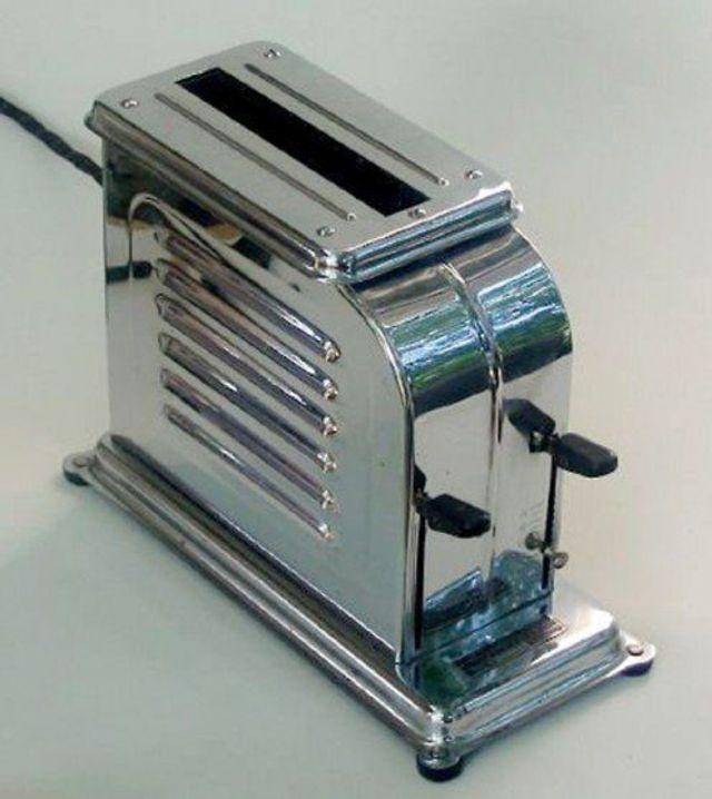 Toaster-Designs aus den 1920er Jahren - Pop-Up-Toasters
