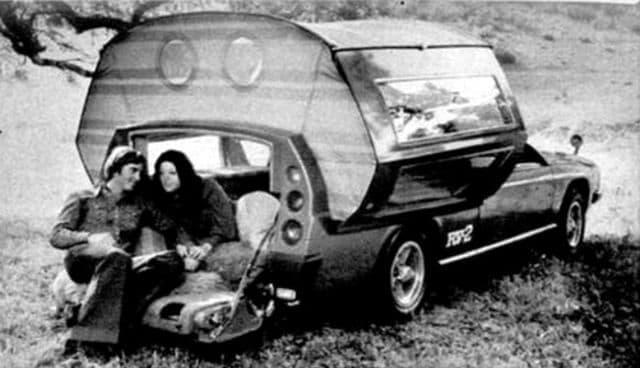 Das Toyota RV-2 Concept Car von 1972