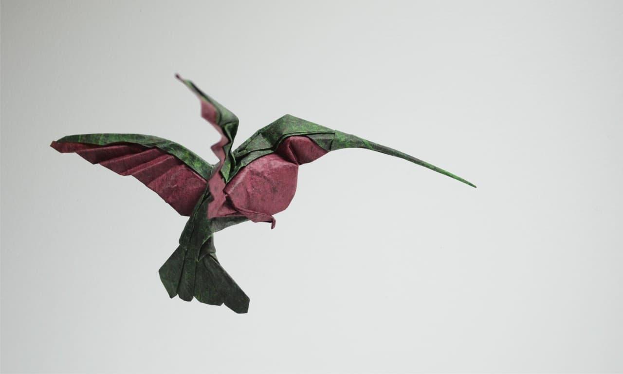 Origami-Kunst von Hoàng Tiến Quyết