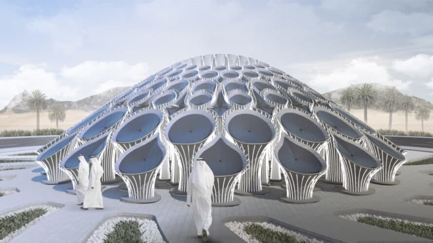 Landmark Pavillion Design zur EXPO 2020 von MEAN