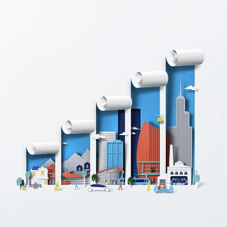 Nokia 5G Illustrationen von Eiko Ojala