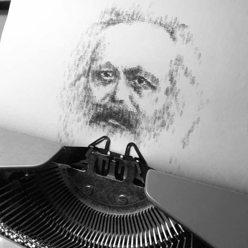 Robert Dörfler - Schreibmaschinenkunst