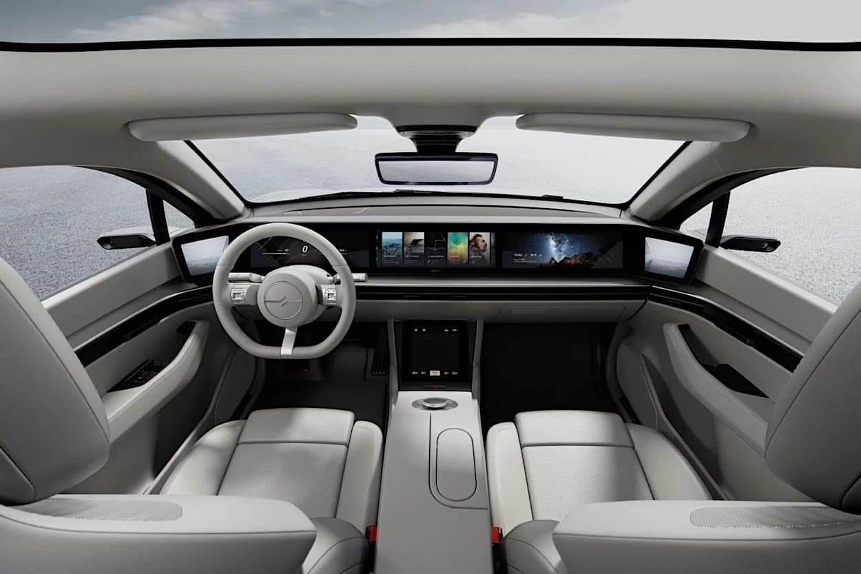 SONY Vision-S Elektro-Konzept