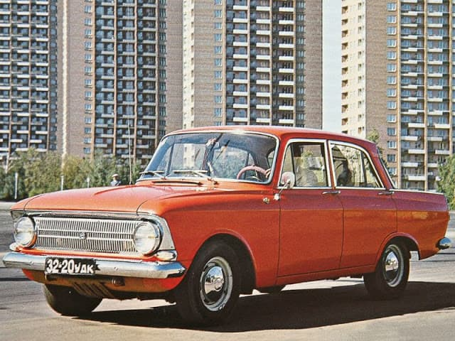 Auto-Design aus der Sowjetunion