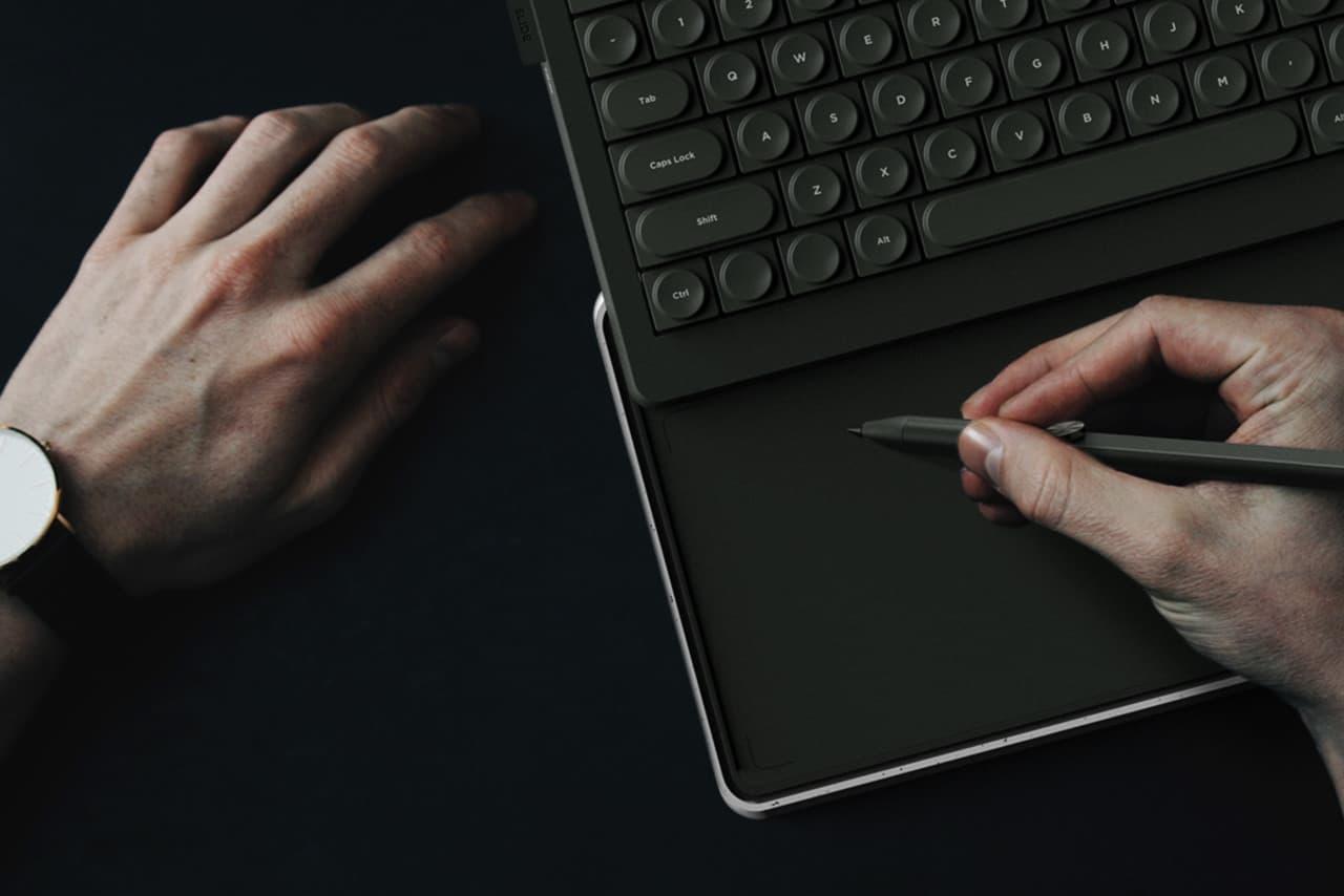 SLIDE Tastatur - Tablet - Design-Konzept