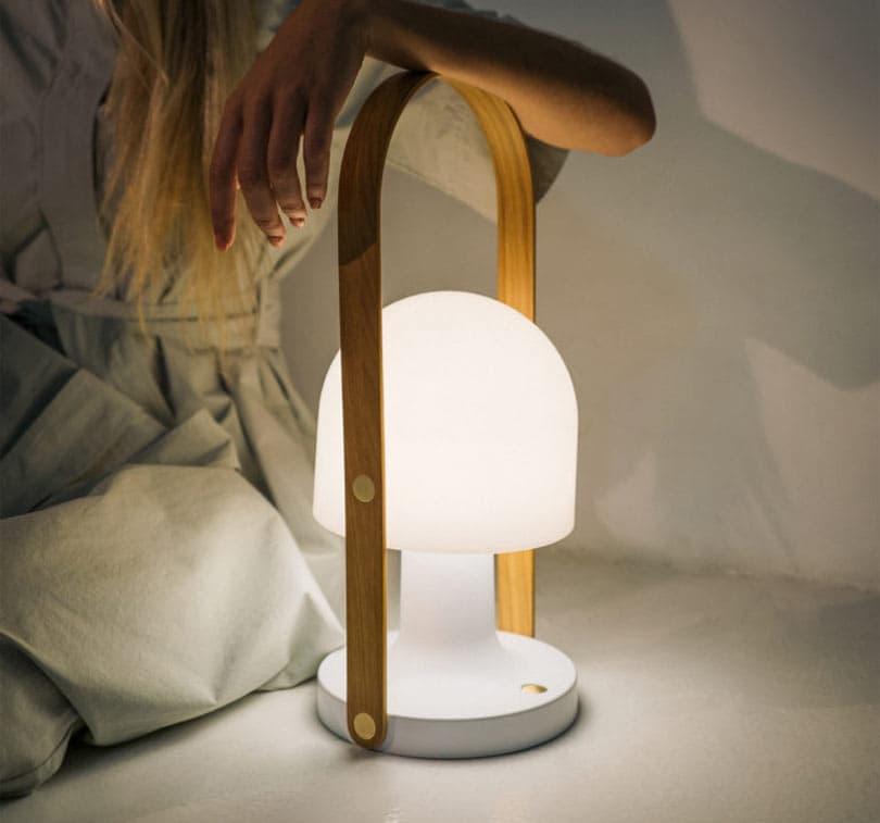 6 tragbare LED-Lampen für Design-Enthusiasten