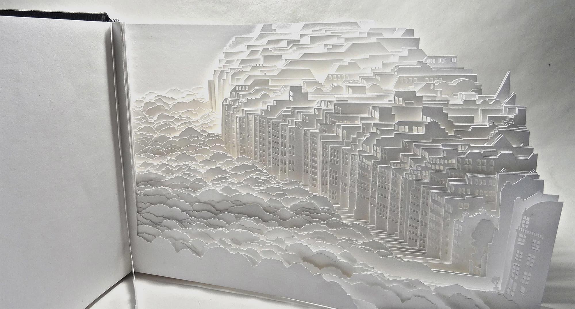 Ayumi Shibata - Komplexe Landschaften aus Papier