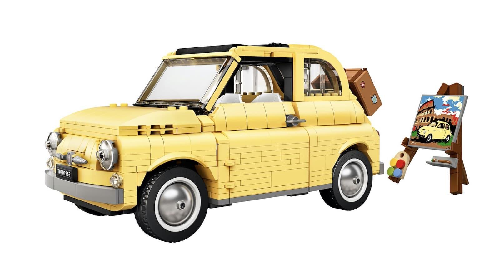 LEGO Fiat 500 Limited Edition