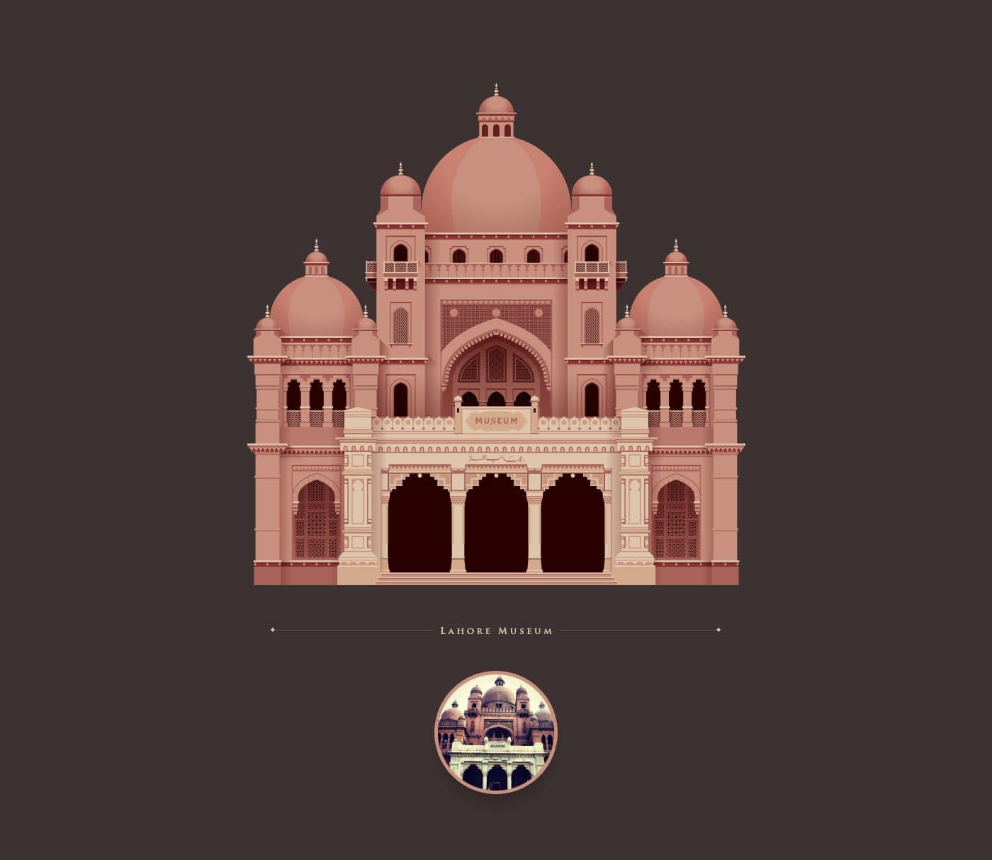 Faizan Zahoor - Historische Architektur in Pakistan