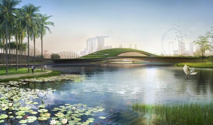 Kengo Kuma und K2LD - Singapore Founders Memorial