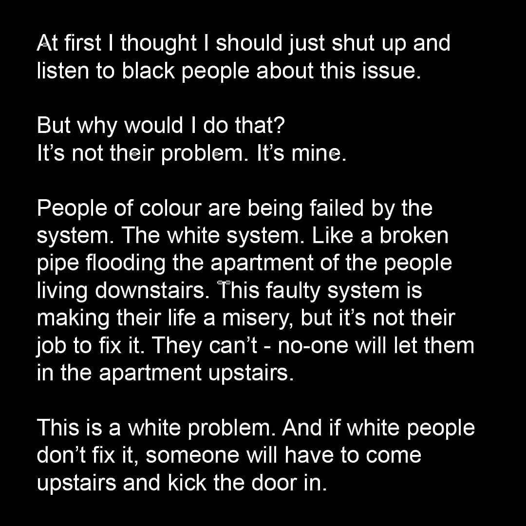 Bansky Statement zum Thema Rassismus