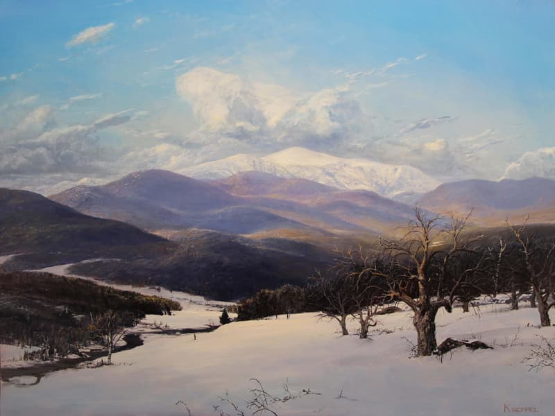Erik Koeppel Landschaftsmalerei