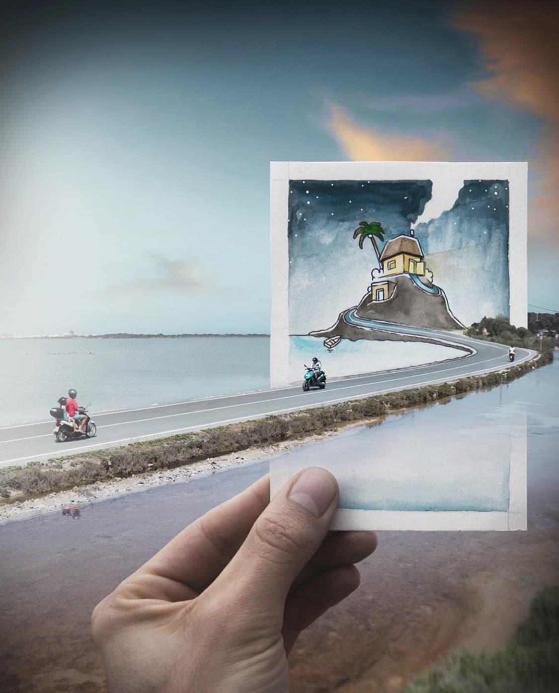 Sergi Tugas Fotomanipulationen