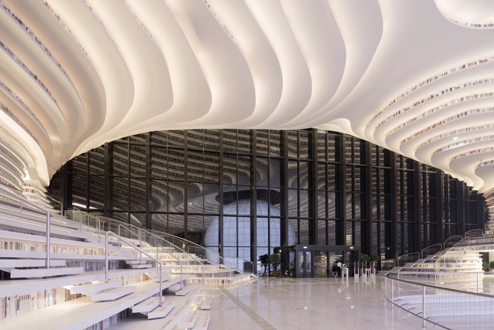 Bibliotheken der Zukunft - China