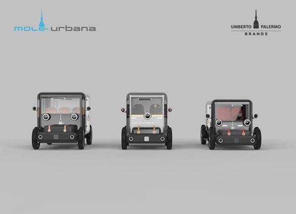 Umberto Palermo - Mole Urbana Elektrofahrzeug