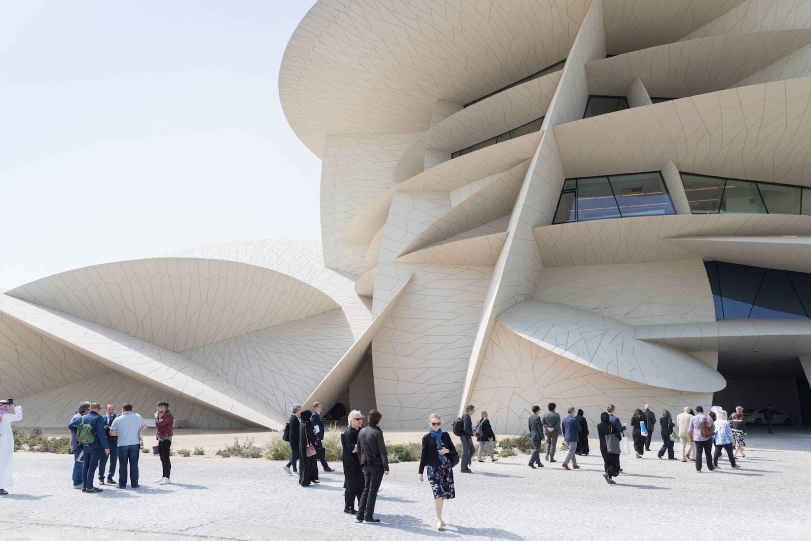 Das National Museum of Qatar von Jean Nouvel