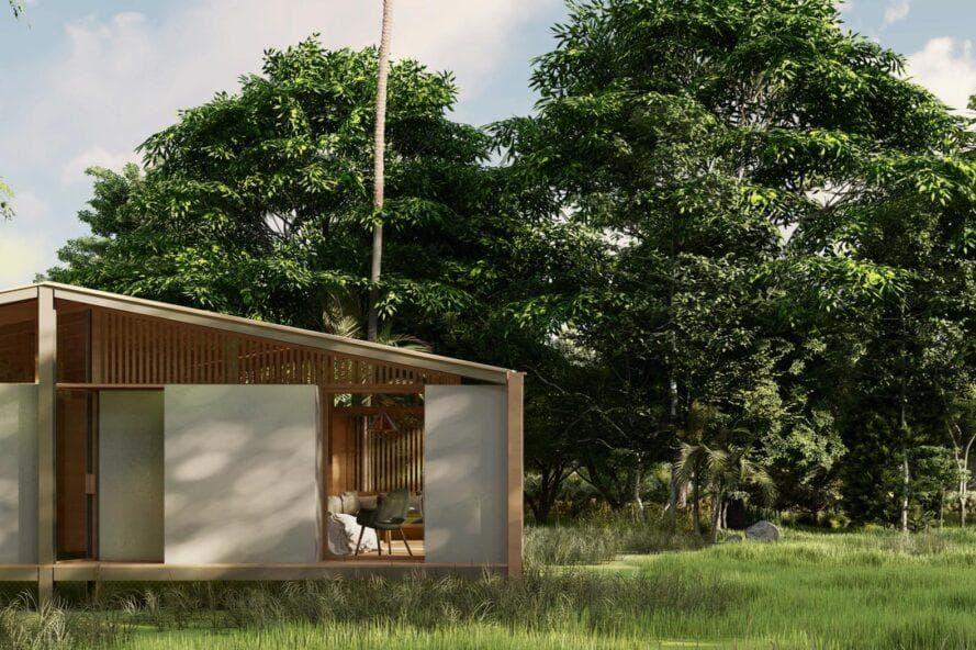 Tiny Tetra House von Stilt Studios