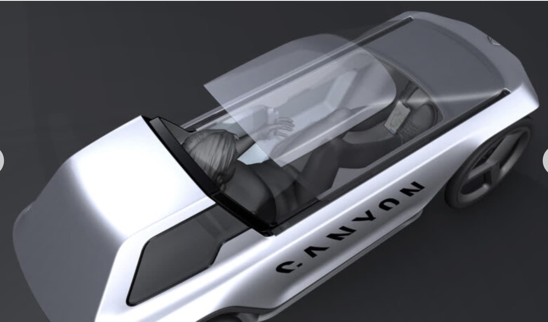 Canyon eCar Conceptfahrzeug