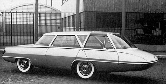 Ghia Selene von Tom Tjaarda von 1959