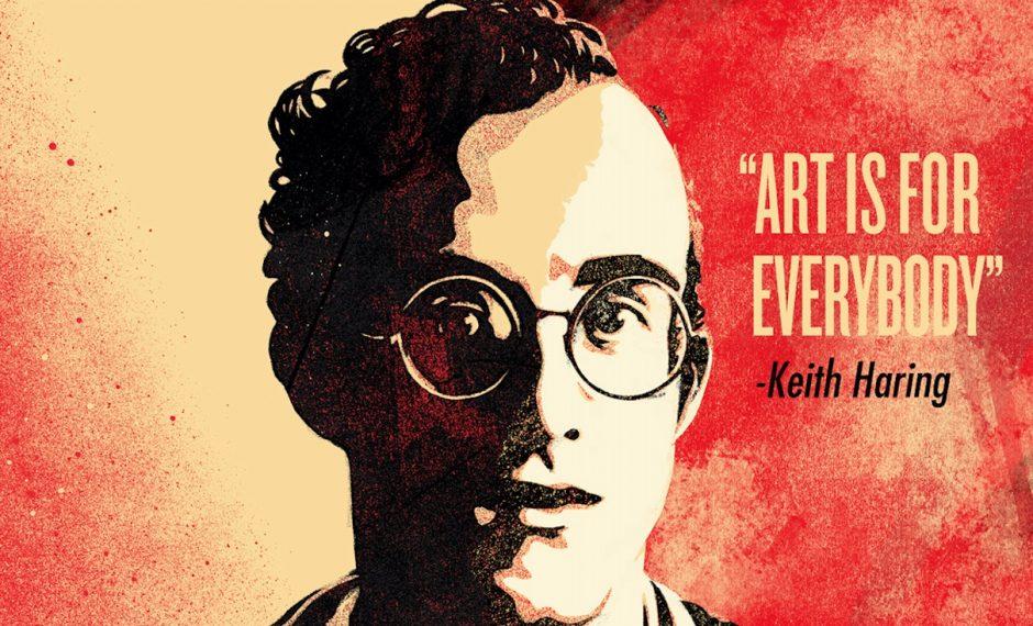 Portrait von Keith Haring