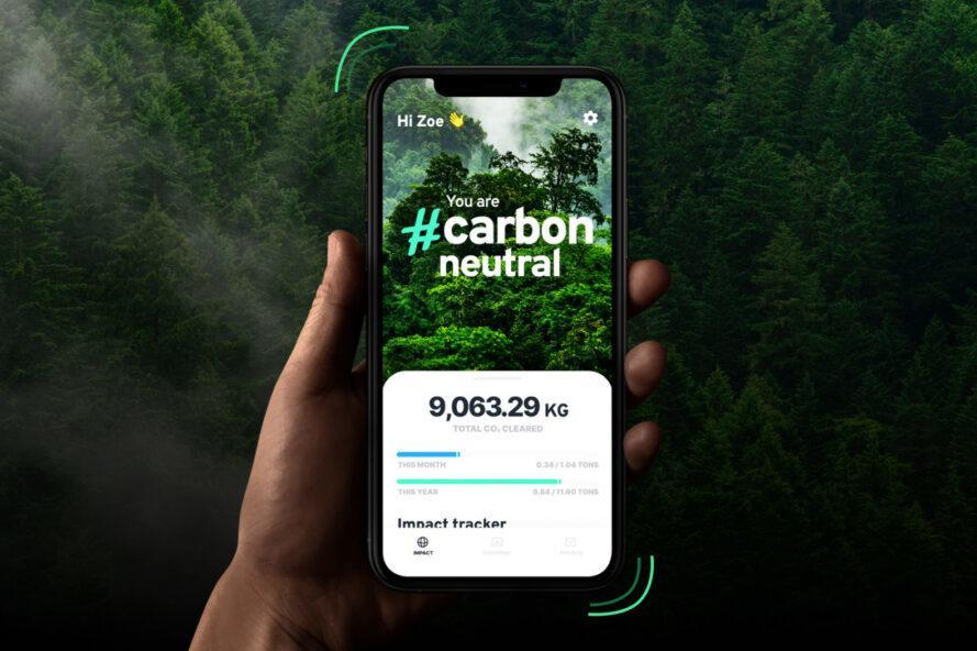 Klima App zur Verringerung des CO2-Fußabdrucks