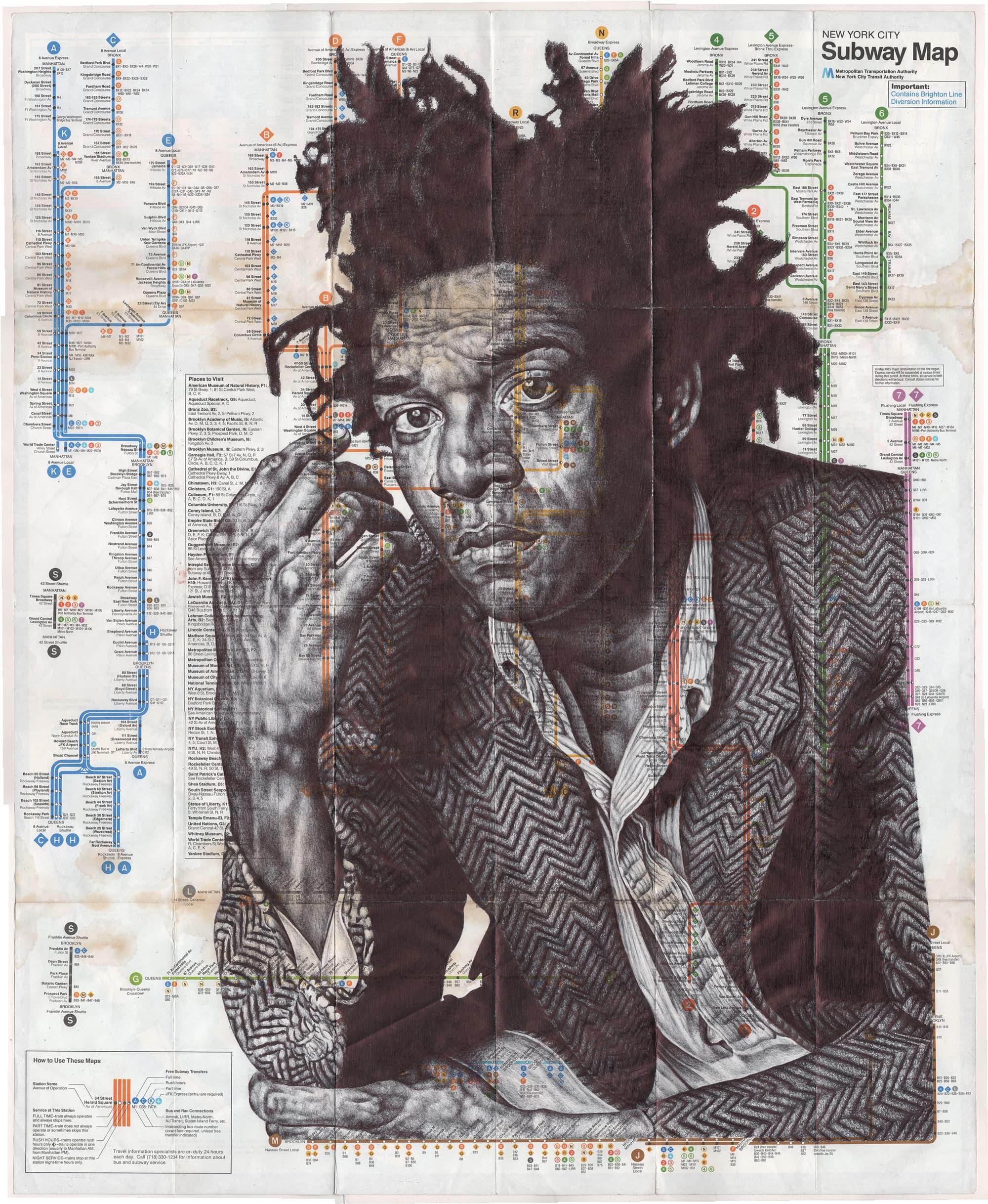 Mark Powell Portraitzeichnungen