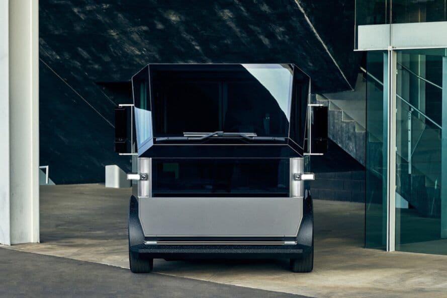 CANOO MPDV Vollelektrische Lieferfahrzeuge